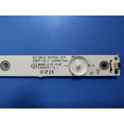 GJ-2K16 GEMINI-315 D307-V1.1 светодиодная планка для телевизора LG 32LK500BPLA